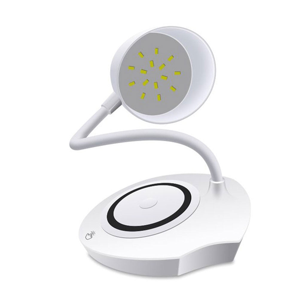 360° Free Rotation  Wireless Charger Charger Pad with Desk Lamps