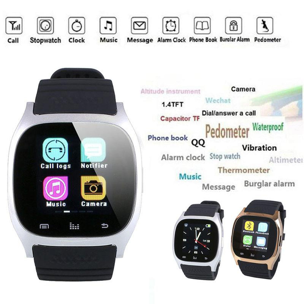 Smart Watch Wrist Phone Mate For IOS Android iPhone Samsung. Bluetooth