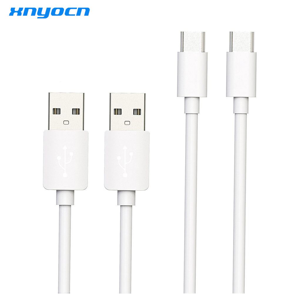2 Pack USB Type C Cable 5A High-speed USB Sync&Charging Cable with For Huawei P9 Macbook LG G5 Xiaomi Mi5 HTC 10 and More