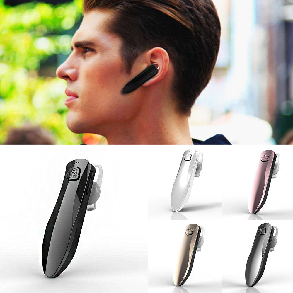 Bluetooth Headset Handsfree Microphone Earphone Headset Ear-Hook