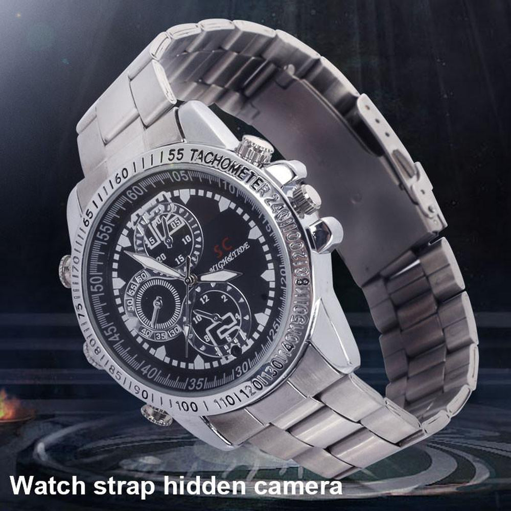 Smart Watch Video Recorder Watch DVR Smart NOT REALLY WATCH HD Motion Detection Infrared Watch Camera DVR Night Vision