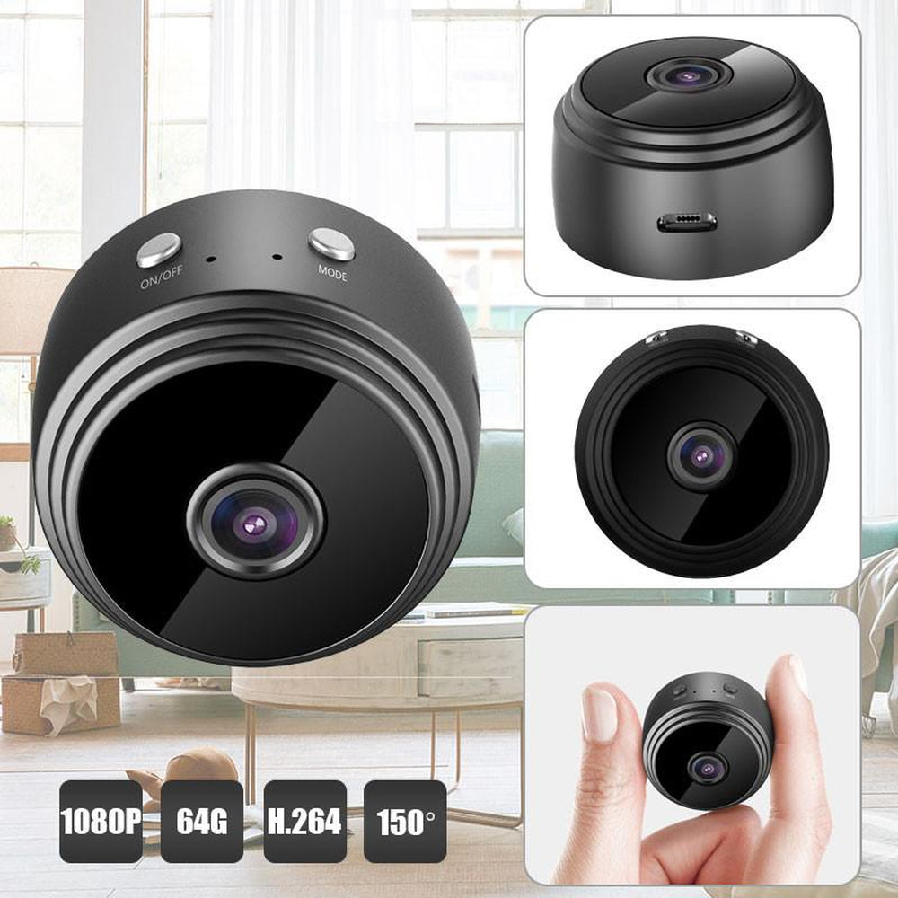 Wifi Recorder Wifi Camera Smart IP HD DVR Night Vision Wifi Camcorder Home Security Infrared