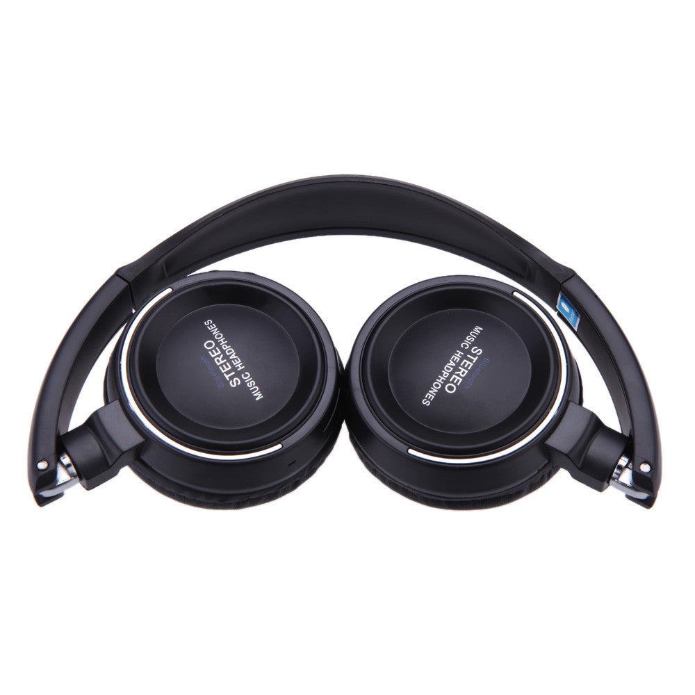 Wireless Headphone Earphone Mic MP3 Player MicroSD/TF Music FM Radio