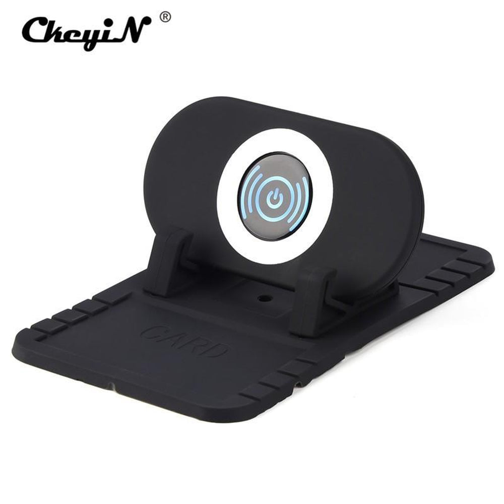 Wireless Charger Car Holder QI Certified Fast Wireless Charging Pad