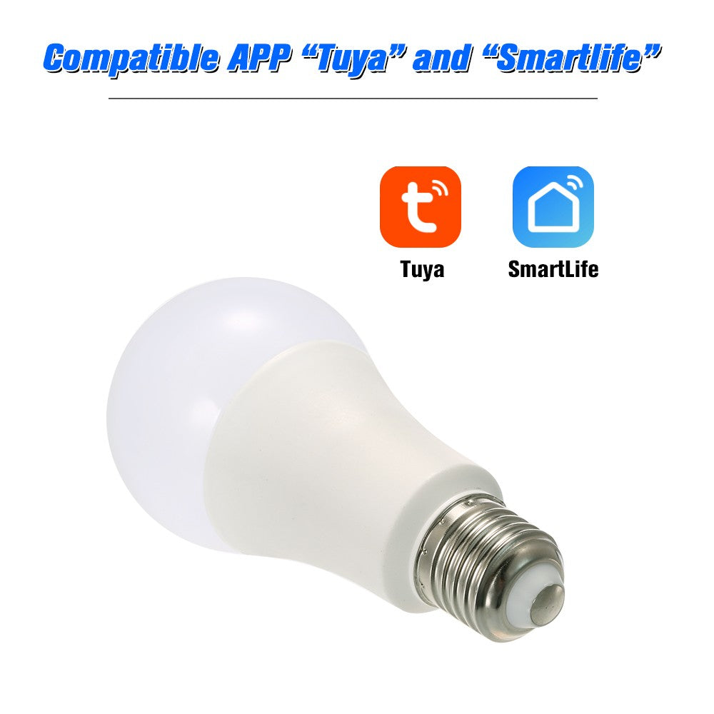 Smart WiFi LED Light Bulb Phone APP Remote  On/Off Voice Control Compatible with Amazon Alexa & for Google Home