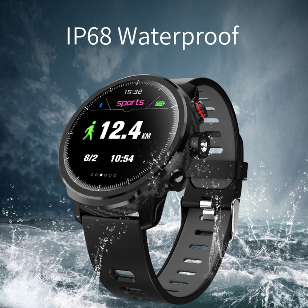LEMFO SmartWatch Full Touch Screen IP68 Waterproof Multiple Sports