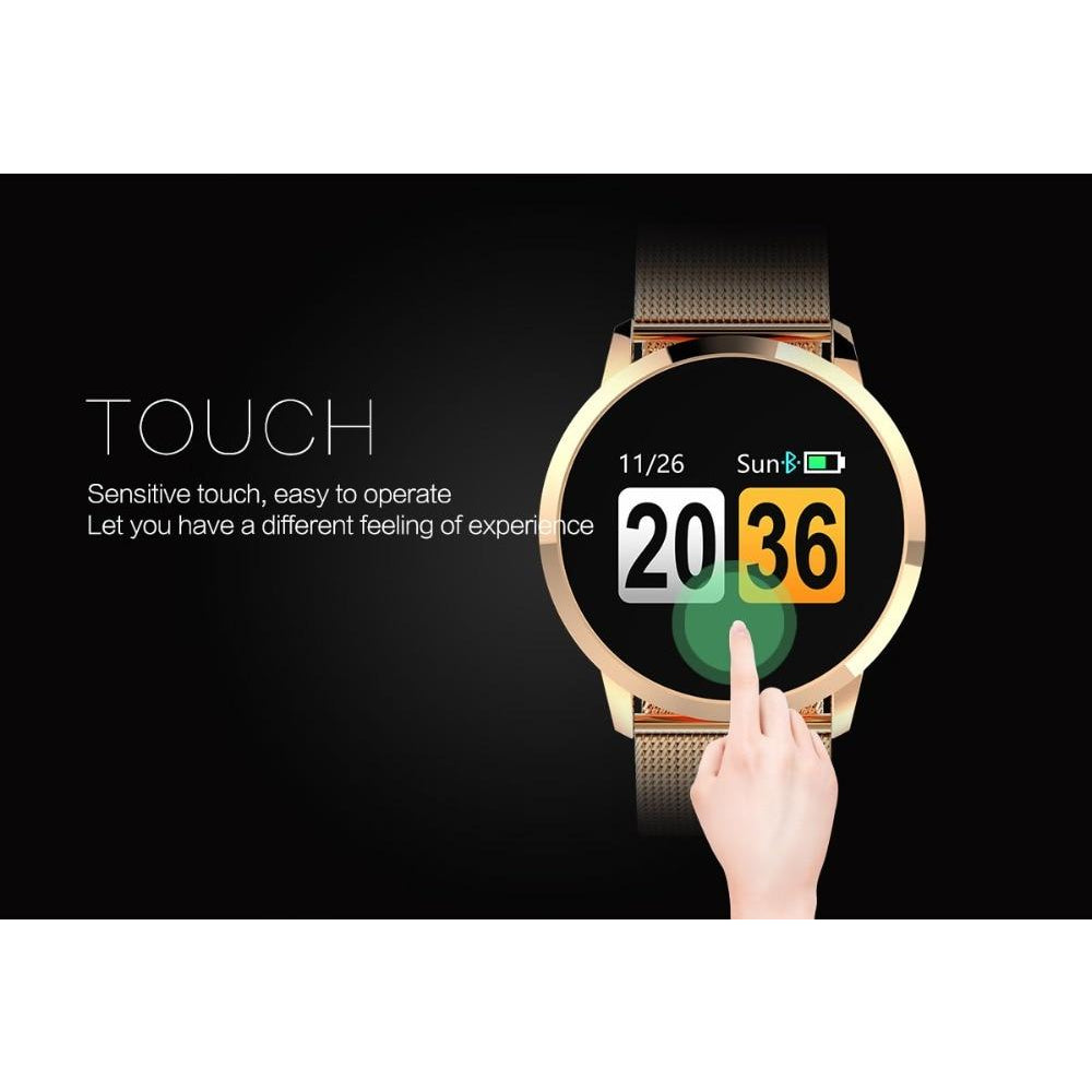 Smart Watch LEMFO KW18 Bluetooth Heart Rate Monitor Support