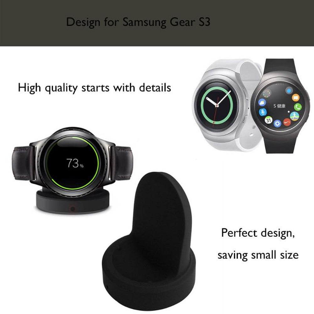 JINSERTA Wireless Charging Dock For Samsung Gear S3 for R732 R770 S2 Watch Accessories