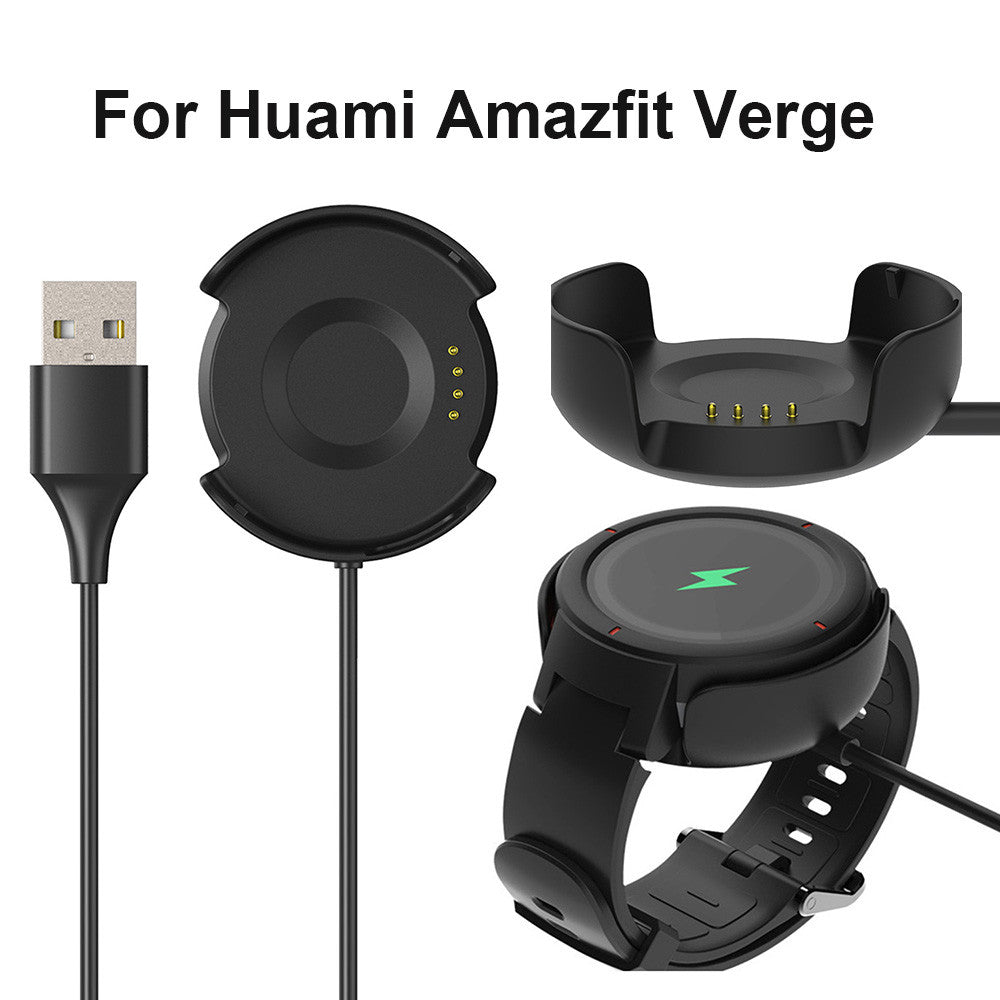Huami Amazfit Verge Smart Watch charger Replacement USB Charging Dock Cable Watch car holder