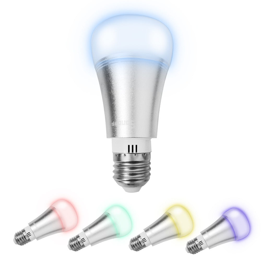 B1 ITEAD Ambiance Dimmable Smart Bulb Light Color Changeable for Android/IOS Compatible with Amazon Alexa & for Google Home