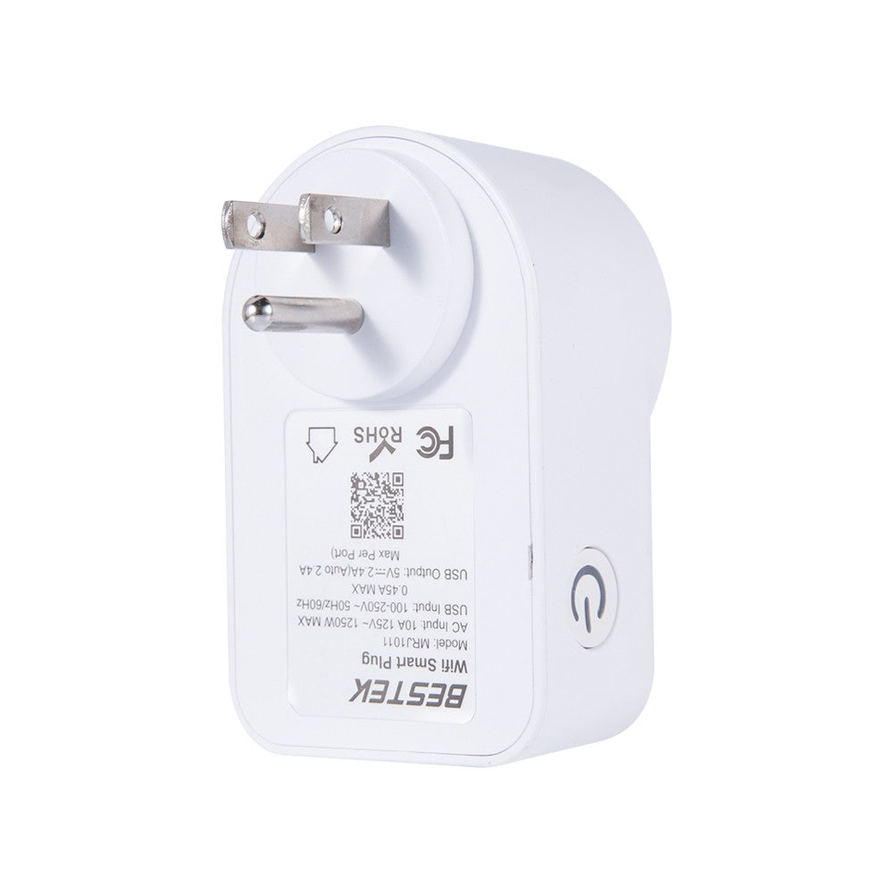 BESTEK MRJ1011 Compatible with Alexa & Google Home Remote Control Light Switch Intelligent Socket