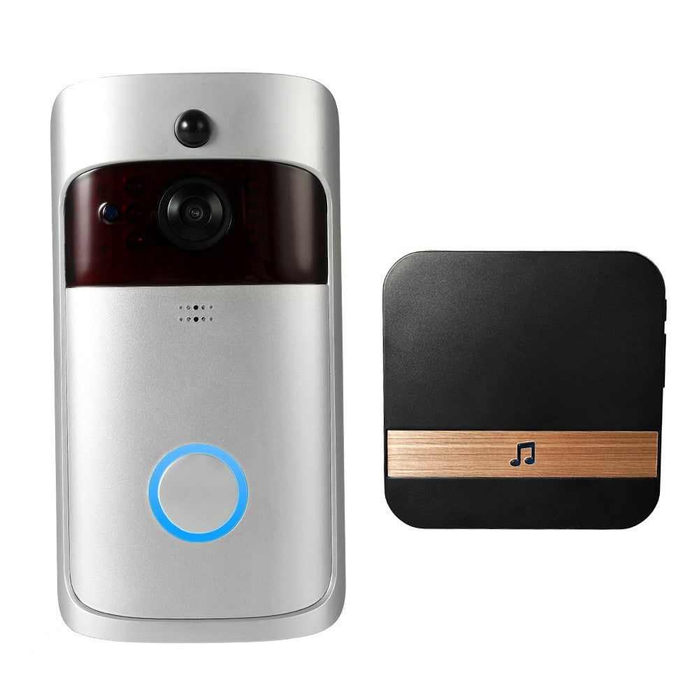 1080P Wireless WiFi Security DoorBell Smart Video Door Phone Home Monitoring Night Vision