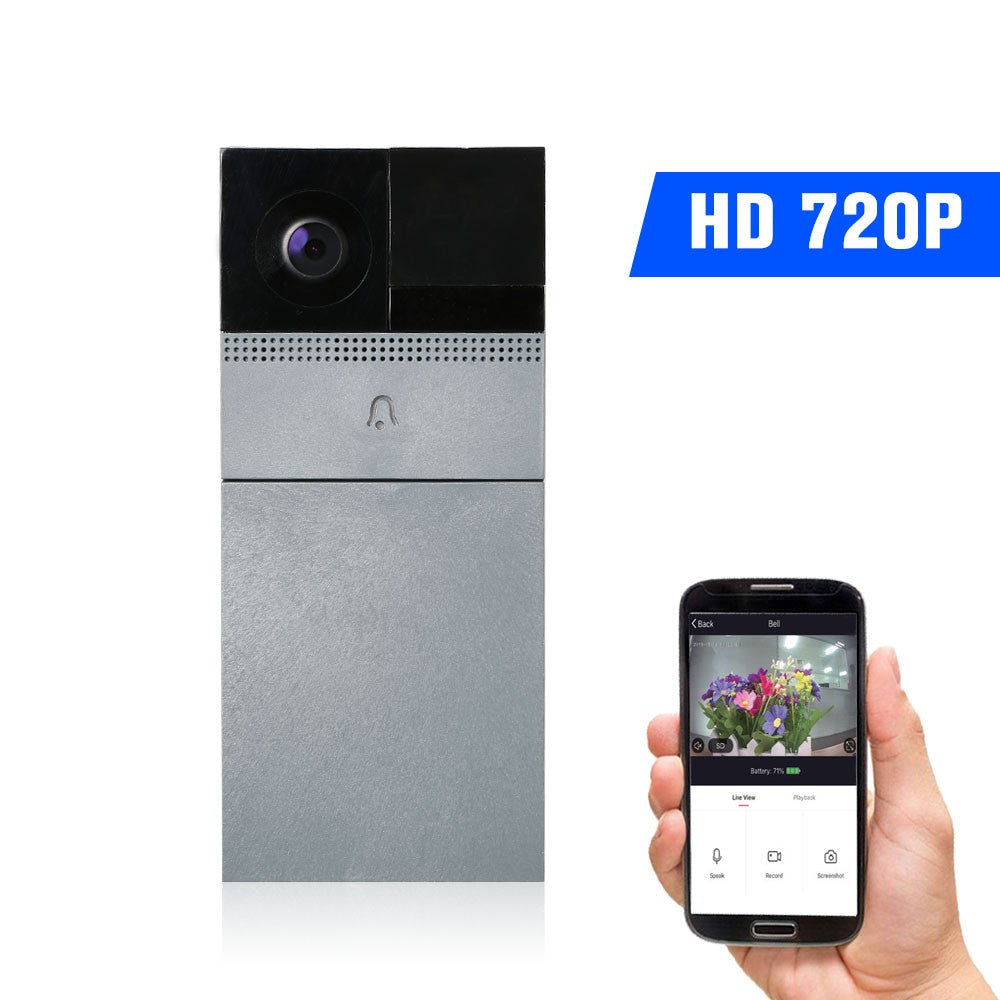 WiFi Smart Wireless Security DoorBell Smart HD 720P Visual Intercom Recording Video Door Phone Remote