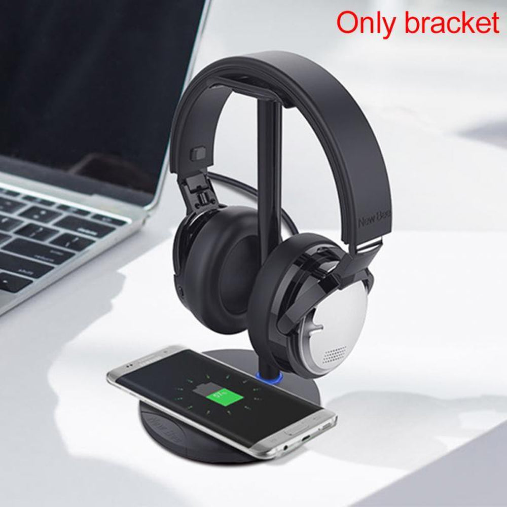Headset stand Headphone Holder rack accessory Holder Aluminum Alloy Universal Wireless fast Charging 5V/500-1000mA #06