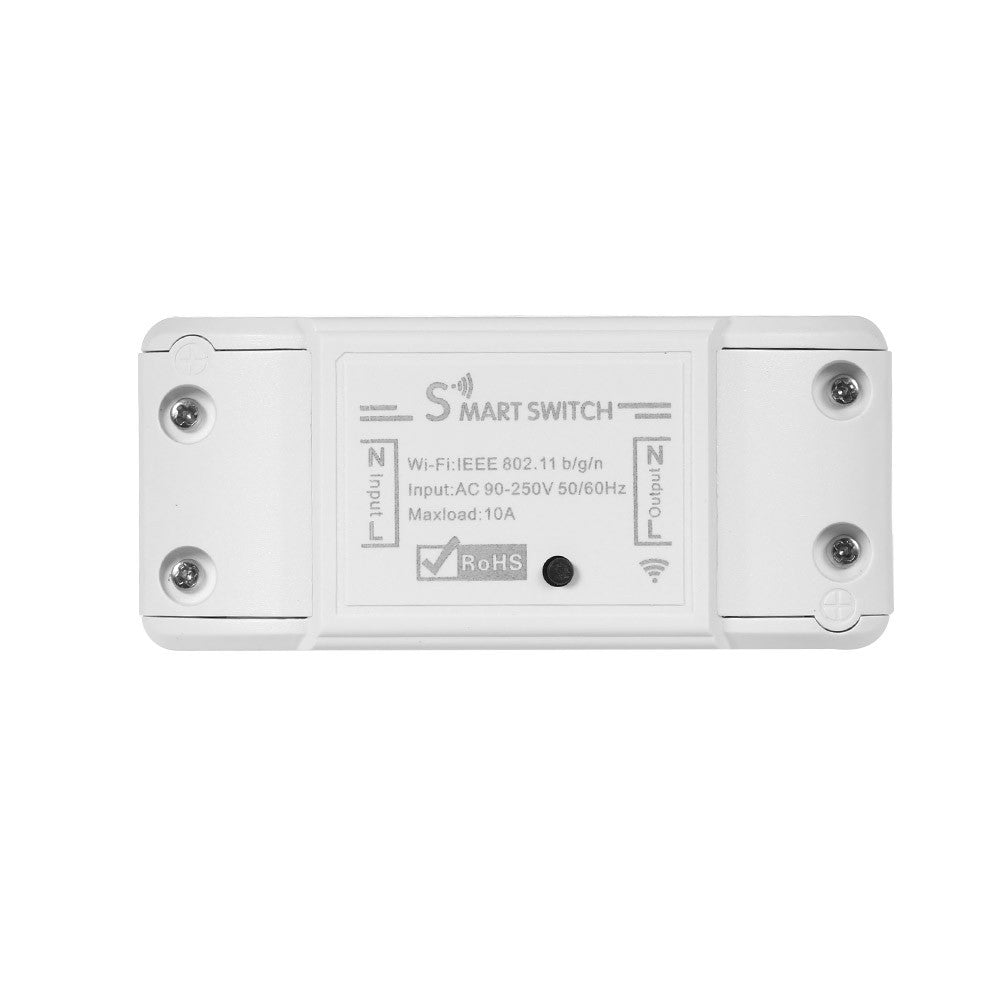Wifi Smart Switch Compatible with Amazon Alexa & for Google Home Timer 10A/2200W Wireless  for Android/IOS