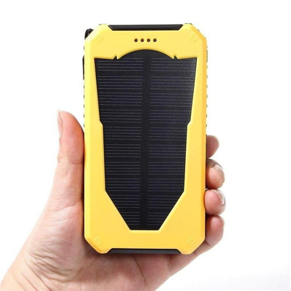 HK LiitoKala Lii-D003 Solar Power Bank 20000 mAh Dual USB Charger Lighter Charger for  External Battery for Phone