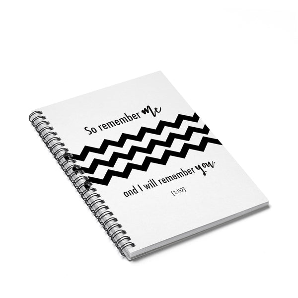 Spiral Notebook - Remember Me