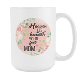 Heaven and MOM Mug, Large Size (15oz)