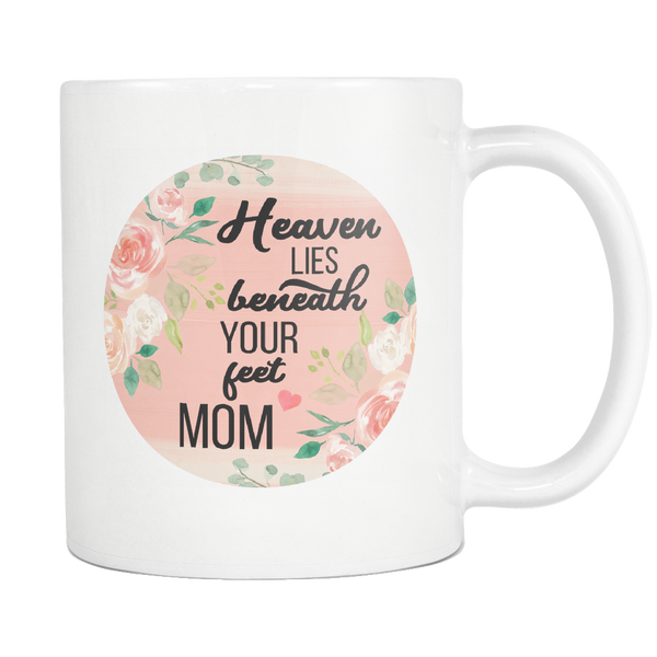 Heaven and MOM Mug, Regular Size (11 oz)
