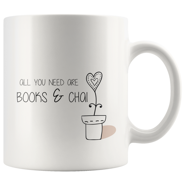 All you need books Mug, Regular Size (11 oz)