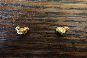 A Lost Treasures Customer Finds Gold Nuggets!