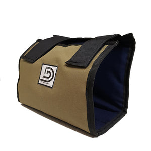 Double D Leather Canvas Control Box Cover