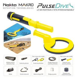 Nokta Makro Pulsedive Scuba Detector and Pointer