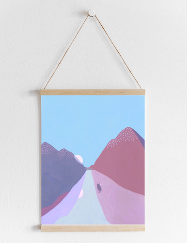 A colorful road
