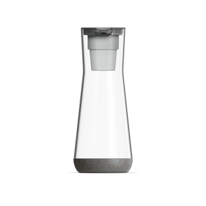 40 oz Water Carafe Grey With Filter