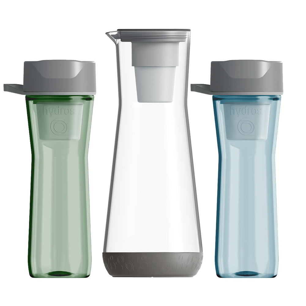 Carafe & Bottle Bundle + Filters