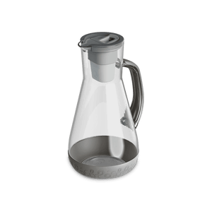 64 oz Water Pitcher Grey With Filter