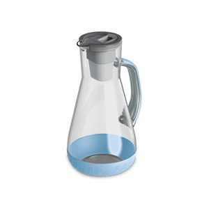 64 oz Water Pitcher Pale Blue With Filter
