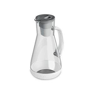 64 oz Water Pitcher White With Filter