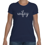 WIFEY Cotton Tee (8 colors) - The Sweetest Tee