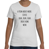 A POEM ABOUT WORK Ladies Tee (4 colors) - The Sweetest Tee