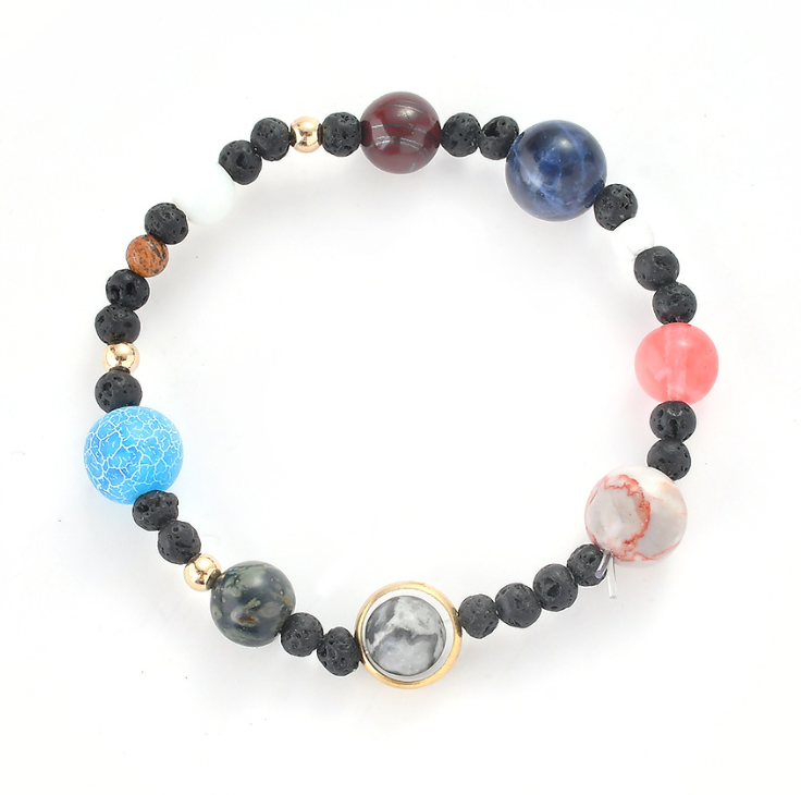 Sweetest Tee Solar System Bracelet(eight planets) - The Sweetest Tee