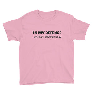 IN MY DEFENSE... Youth Tee (6 colors) - The Sweetest Tee