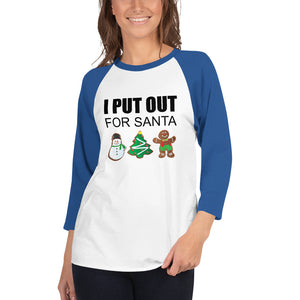 I PUT OUT... 3/4 Sleeve Unisex Tee (6 colors) - The Sweetest Tee
