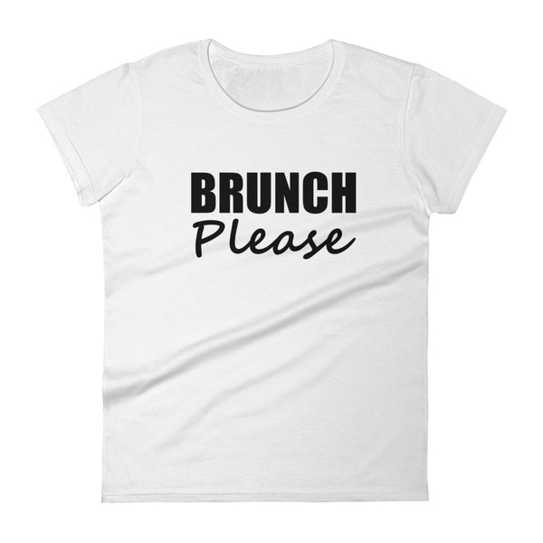 BRUNCH PLEASE Tee (12 colors) - The Sweetest Tee