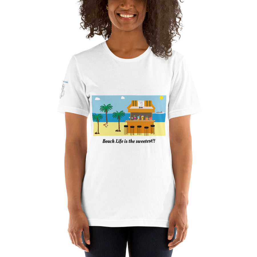 Sweetest Tee Beach T-shirt - The Sweetest Tee