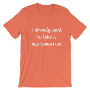 I ALREADY WANT TO... Unisex Cotton Tee (8 colors) - The Sweetest Tee