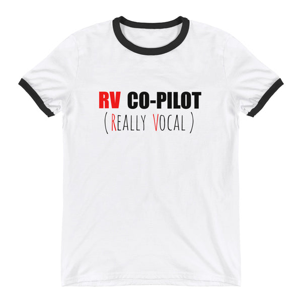 RV COPILOT Ringer Tee (2 colors)