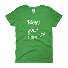BLESS YOUR HEART Cotton Tee (7 colors) - The Sweetest Tee