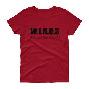 WINOS... Women's Te (14 colors) - The Sweetest Tee