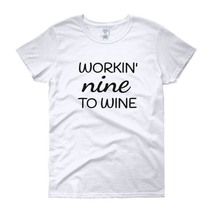 WORKIN' Cotton Tee (8 colors) - The Sweetest Tee