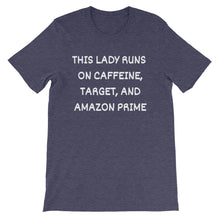 THIS LADY RUNS ON... Cotton Tee (10 colors) - The Sweetest Tee