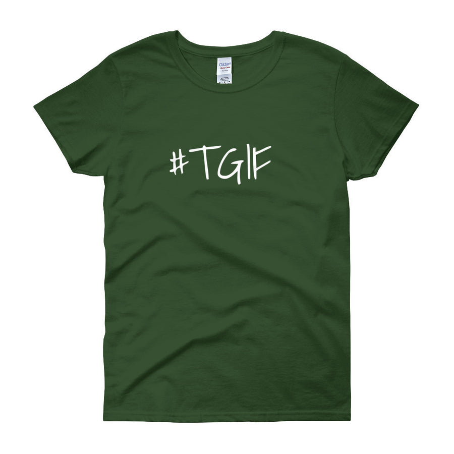 #TGIF Ladies Tee (8 colors) - The Sweetest Tee