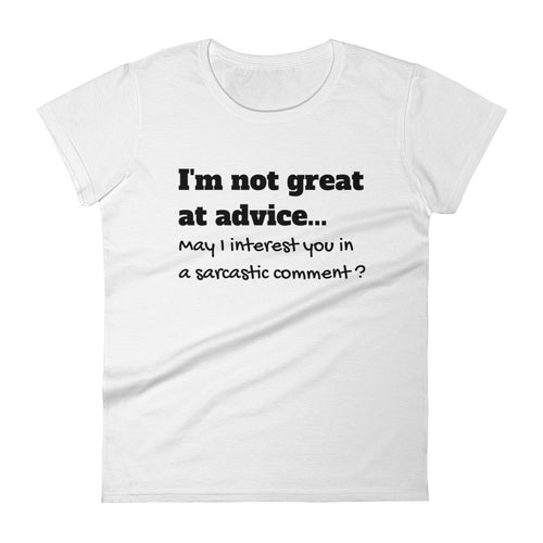 I'M NOT GREAT AT ADVICE... Cotton Tee (6 colors) - The Sweetest Tee