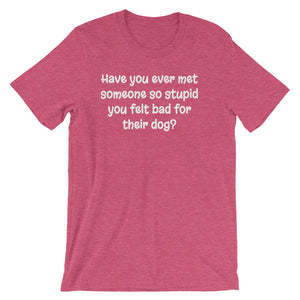 HAVE YOU EVER MET SOMEONE... Unisex Cotton Tee (10 colors) - The Sweetest Tee