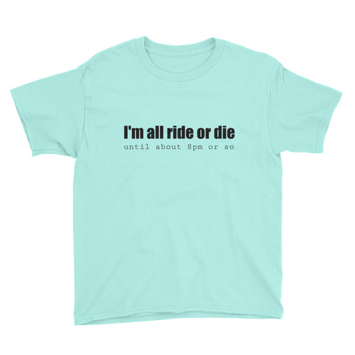 i'M ALL RIDE... Youth Tee (6 colors) - The Sweetest Tee